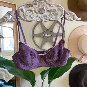 Purple Free People bra